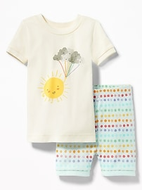 Sunshine Graphic Sleep Set for Toddler & Baby