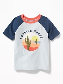 """""""Looking Sharp"""" Cactus Tee for Toddler Boys"""