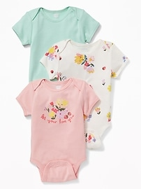 3-Pack Bodysuit for Baby