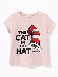 Dr. Seuss&#153 The Cat in the Hat Tee for Toddler Girls