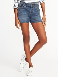 "Boyfriend Cutoffs for Women (3"")"
