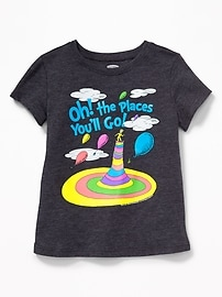Dr. Seuss&#153 Oh! The Places You'll Go! Tee for Toddler Girls