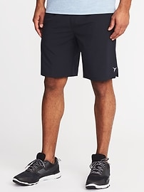 """Go-Dry 4-Way Stretch Shorts for Men (9"""")"""