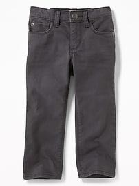 Pantalon en sergé Built-In Flex, coupe droite pour tout-petit garçon