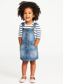 Denim Skirtall for Toddler Girls