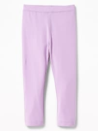 Jersey Leggings for Toddler Girls