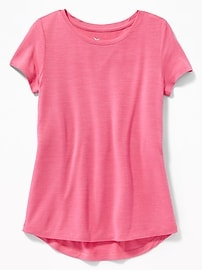 Ultra-Light Jersey Performance Tee for Girls