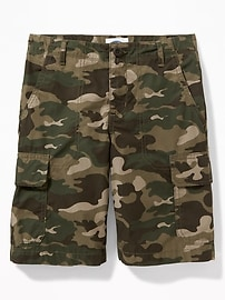 Authentic Straight Cargo Shorts for Boys