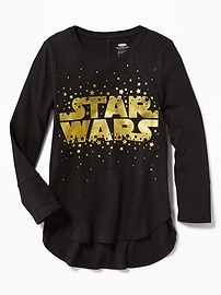 Star Wars&#153 Graphic Tulip-Hem Tunic for Girls