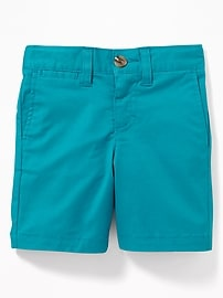 Built-In Flex Twill Shorts for Toddler Boys