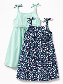 Jersey Cami-Dress 2-Pack for Toddler Girls