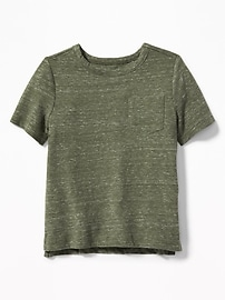 T-shirt à poche ras du cou pour tout-petit garçon