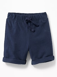 Jersey Drawstring Shorts for Baby