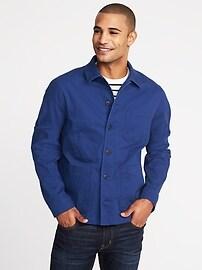Built-In Flex Chore Jacket for Men