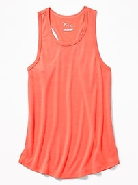 Ultra-Light Hi-Lo Hem Performance Tank for Girls