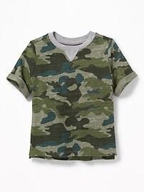 T-shirt en tricot à motifs pour tout-petit garçon