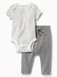 2-Piece Bodysuit and Leggings Set for Baby
