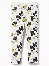 Disney&#169 Mickey & Minnie Mouse Leggings for Toddler Girls