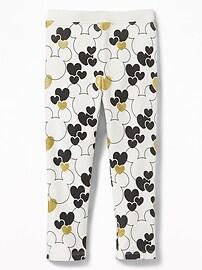 Legging Minnie et Mickey Mouse de Disney© pour toute-petite fille