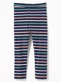 Legging en jersey à imprimé pour toute-petite fille