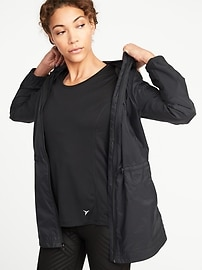 Lightweight Nylon Jacket for Women