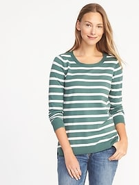 Classic Striped Sweater for Women