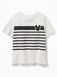 Disney&#169 Mickey Mouse Slub-Knit Tee for Toddler Boys