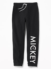 Disney&#169 Mickey Graphic Fleece Joggers for Boys