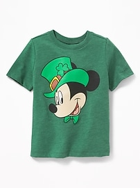 Disney&#169 Mickey Mouse St. Patrick's Day Tee for Toddler Boys