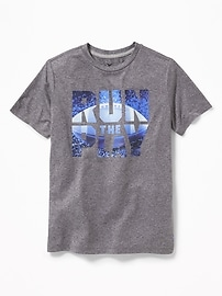 Go-Dry Eco Graphic Tee for Boys