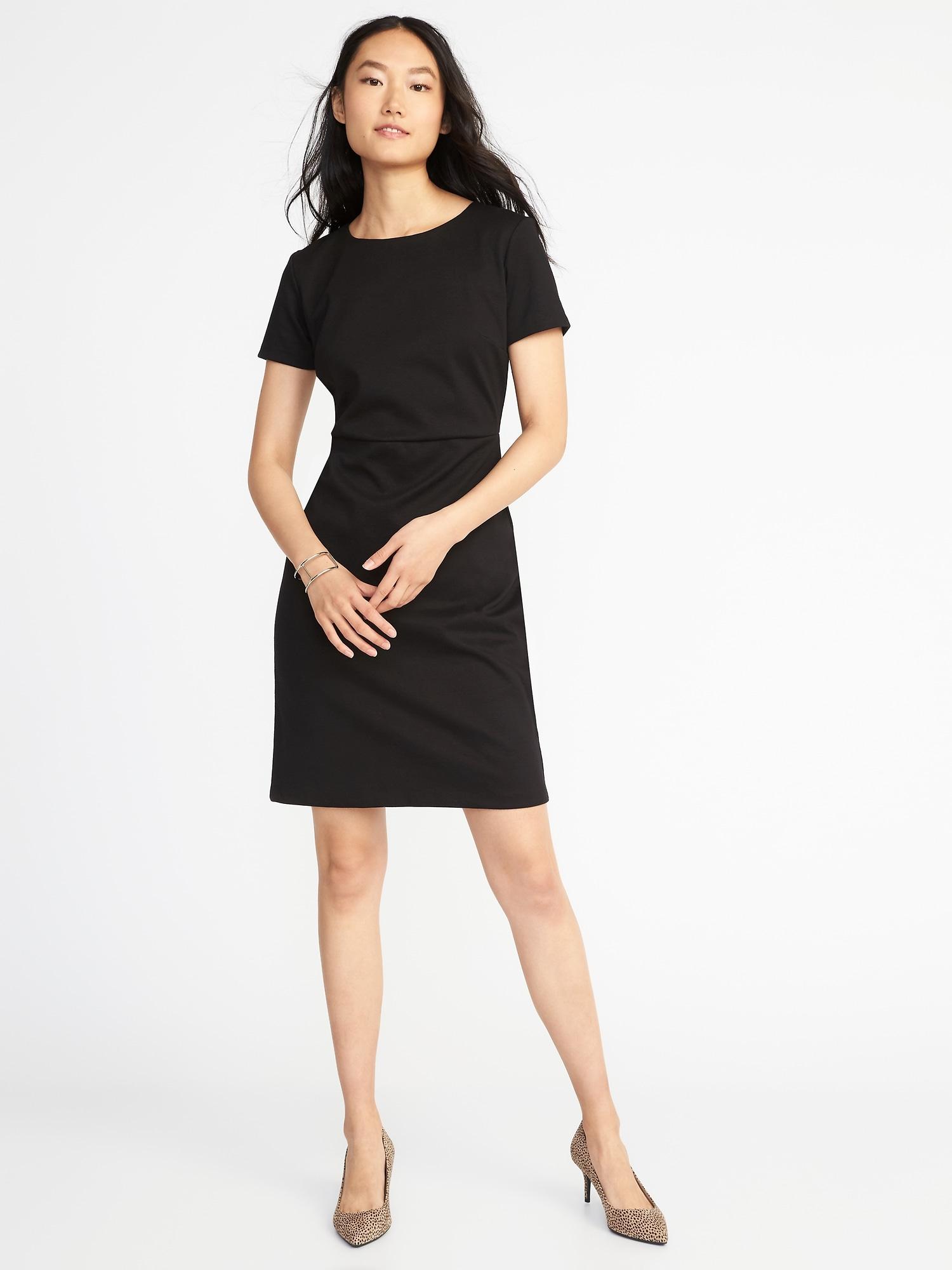12e6e057639f Ponte-Knit Sheath Dress for Women | Old Navy