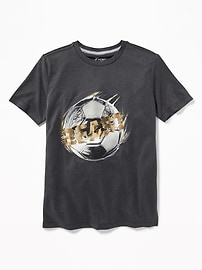 Performance Graphic Crew-Neck Tee for Boys