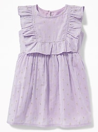 Ruffled Fit & Flare Dress for Baby