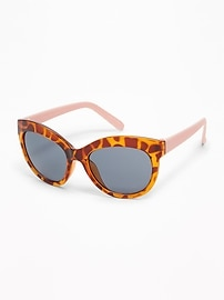 Tortoiseshell-Frame Sunglasses for Toddler Girls