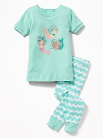 Mermaids-Graphic Sleep Set for Toddler & Baby