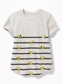 Disney&#169 Mickey and Minnie Mouse Tee for Girls