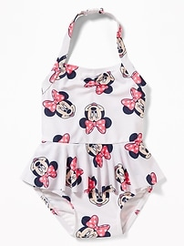 Disney&#169 Minnie Mouse Halter Swimsuit for Toddler Girls