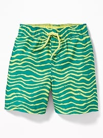 Striped Swim Shorts for Toddler Boys