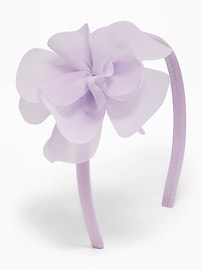 Chiffon-Flower Headband for Toddler Girls