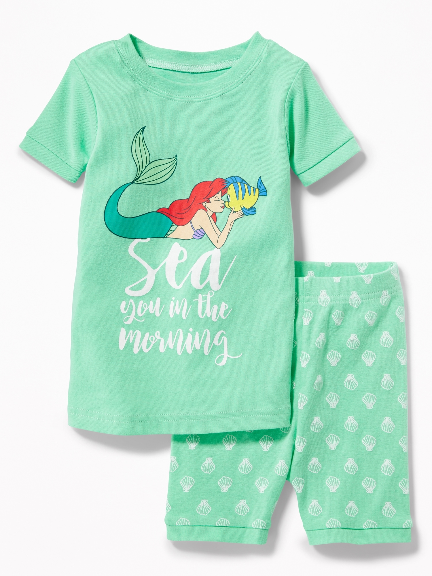"Disney© Little Mermaid ""Sea You in the Morning"" Sleep Set for"