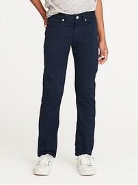 Slim Built-In Flex Max Pop-Color Karate Jeans