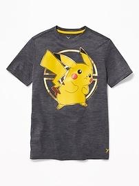 T-shirt Go-Dry à imprimé PokémonMC pour garçon