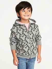 Disney&#169 Mickey Mouse Zip Hoodie for Toddler Boys