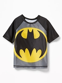 DC Comics&#153 Batman Rashguard for Toddler Boys