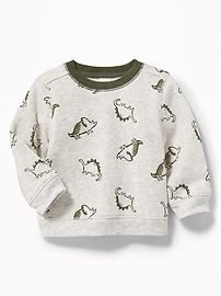 Graphic Fleece Sweatshirt for Baby