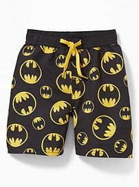 DC Comics&#153 Batman Swim Trunks for Toddler Boys