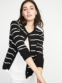 Classic Striped Cardi for Women