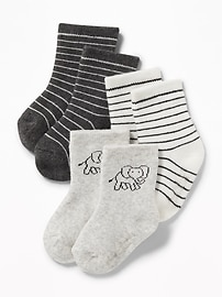 Crew Socks 3-Pack for Baby