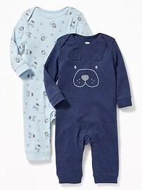 Ensemble de deux pyjamas une-pièce pour bébé