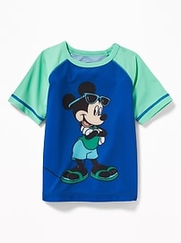Disney&#169 Mickey Mouse Rashguard for Toddler Boys